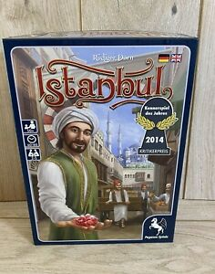 Istanbul Board Game with 2 x Expansions Letters & Seals & Mocha & Baksheesh