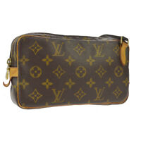 LOUIS VUITTON MARLY BANDOULIERE SHOULDER BAG MONOGRAM PURSE M51828 SL0072 A49585