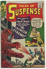 TALES OF SUSPENSE #46, MARVEL 1963, VG/VG+, RK COLLECTION, 1ST CRIMSON DYNAMO