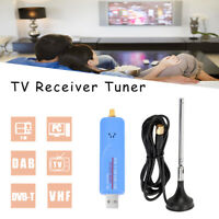 Video Dongle R820T2 Digital DVB-T RTL2832U FM TV Stick Receiver Tuner RTL-SDR h