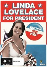LINDA LOVELACE FOR PRESIDENT - (DVD) BRAND NEW!!! SEALED!!!
