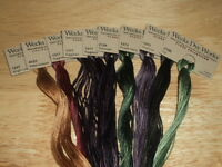 WEEKS DYE WORKS 6 Strand 5yd Hand Dyed Floss THREAD Needlework,Cross Stitch A-L