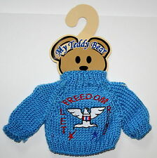 Plush Animal / Teddy Bear Knit Sweater Outfit fits 11-13 inch Bears New on Card
