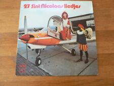 LP RECORD VINYL 27 SINT NICOLAAS LIEDJES DE ZONNEPITTEN BEAGLE AIRPLANE