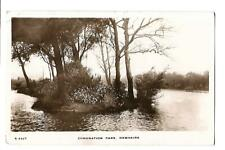 Coronation Park, Ormskirk. R/P. Posted at Ormskirk in 1915.