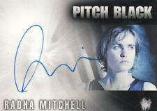 The Chronicles of Riddick Radha Mitchell as Carolyn Fry Pitch Black Auto Card