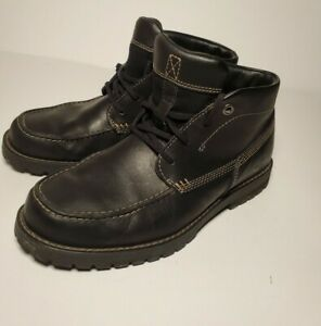 Timberland Baluster Chukka Boot Loafer Black Mens Size 8