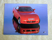 Vauxhall-Opel Irmscher GT Coupe Concept Car Brochure , 3.6i, 1991 Rare