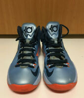 """Nike KD V GS Size 4Y """"Ice Blue"""" Basketball Shoes"""