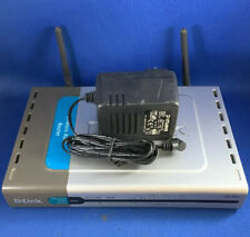 D-Link DSL-604+ ADSL wifi router with PSU