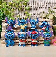 """Funny Lilo and Stitch 8 Pcs Figure Set """"Elvis"""" Figure"""