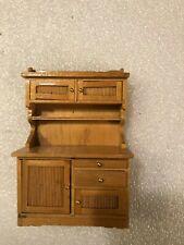 Concord Dollhouse Furniture Kitchen Hutch Cabinet #6028, Slight Seconds, Read!