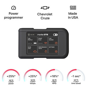 Chevrolet Cruze smart tuning chip power programmer performance tuner OBD2