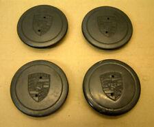 GENUINE PORSCHE 911 924 944 928 Noir 71 mm Cookie Cutter Wheel Hub Cap 91136103
