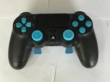 PS4 controlador jumpshot DropShot Paletas Scuf estilo V2 gatillo se detiene Negro Azul