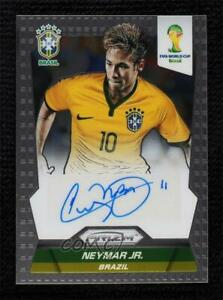2014 Panini Prizm World Cup Signatures Neymar Jr #S-NE Rookie Auto