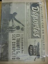 03/10/1966 Deportes: Spanish Weekly Newspaper Issued In Valencia - Previews UEFA