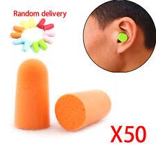 100PC Travel Sleep Noise Foam Earplug Reducer Plug Ear Protector Practicl Safety