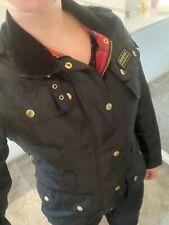 Womens Black Barbour Jacket Size 10