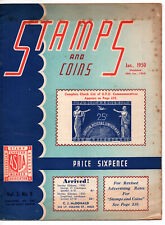Stamps and Coins Booklet Vol.3 Jan,1950