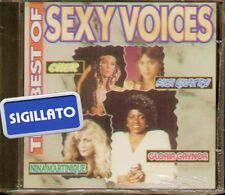 """COMPILATION """" THE BEST OF SEXY VOICES """" CD SIGILLATO"""