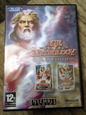 Age of Mythology: Gold Edition - 2 Disc PC CD-ROM - Complete - Good Condition