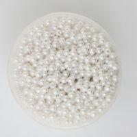 Lot 50 Perle imitation 5mm Blanc Pour vos creation Bijoux Collier Bracelet