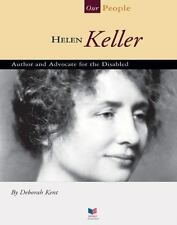 Helen Keller: Author and Advocate for the Disabled (Spirit of America,-ExLibrary