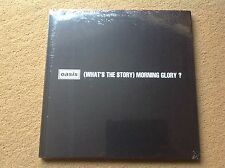 "Oasis What's the story morning glory? 12""x12"" Hardback book! Factory sealed MINT"