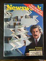 Newsweek Mag Moshe Safdie Architect April 19, 1971