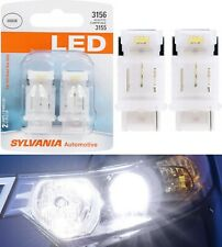 Sylvania LED Light 3156 White 6000K Two Bulbs Back Up Reverse Replace Upgrade OE