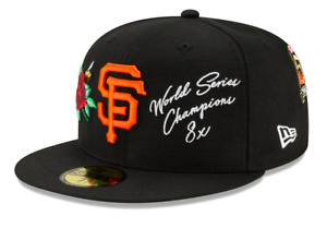 New Era 59FIFTY San Francisco Giants 8x World Series Champions Fitted Hat MLBCap