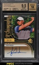 2012 SP Authentic Chirography Tiger Woods AUTO /25 #CTW BGS 9.5 GEM MINT