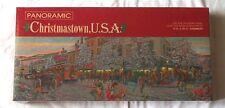 Hallmark Springbok Jigsaw Puzzle 700 Piece Christmastown USA Panoramic New T26