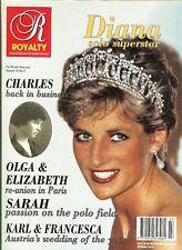 UK ROYALTY MAGAZINE Vol 12 1993 No 3 DIANA SOLO; Olga of Yugoslavia; Sarah Polo