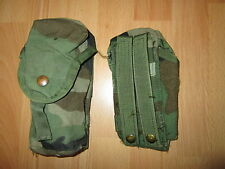 Us Army MOLLE II Woodland camo m16 a2 Double mag 30 rounds pouch