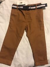 DYMPLES twill Dress Pants With Belt Size 1 *BNWT*. Combined Post