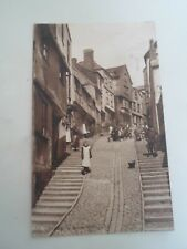 EXETER Stepcote Hill, LL.  Publisher Worth & Co  Vintage Postcard 1915  §B616