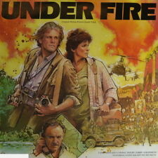 "Jerry Goldsmith Under Fire Original Soundtrack 1983 Warner Bros 12"" LP"
