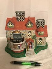 Pre-owned Partylite Olde World Village # 3 Bristol Victorian House