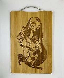 Sally nightmare before Christmas laser engraved high quality cuttingboard