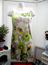 """angel eye "" ladies floral top/dress size 12 b.n.w.t."