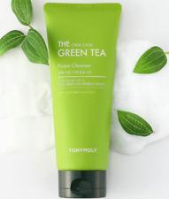 TONYMOLY The Chok Chok Green Tea Foam Cleanser - 150ml + samples (EKC) Korean
