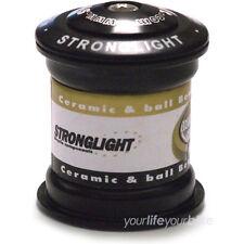 Steuersatz Stronglight Raz Steel 1 1/8-1 1/18 Semi integriert schwarz