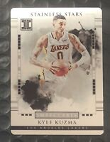 Kyle Kuzma Rookie IMPECCABLE Stainless Stars Hit 2017 Los Angeles Lakers #d/99
