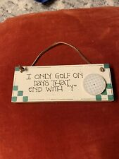 Golf Wall Decor