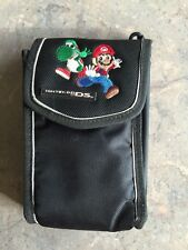 Nintendo DS Embroidered Mario-yoshi Travel Case Carrying Storage
