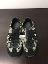 Coach Joss Q293 Black Fashion Sneaker, 6 M GUC