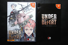 UNDER DEFEAT LIMITED EDITION Sega Dreamcast JAPAN Very.Good.Condition