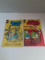 Vintage Walt Disney Comics And Stories #236 and #495